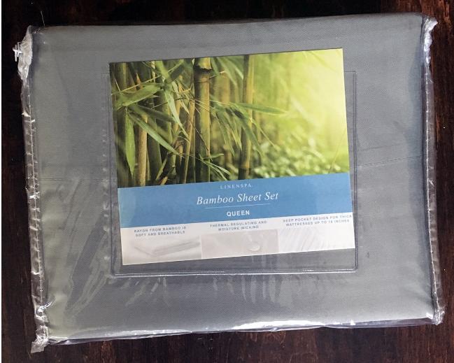 Linenspa Bamboo Bed Sheet Review Bamboo sheets bedding