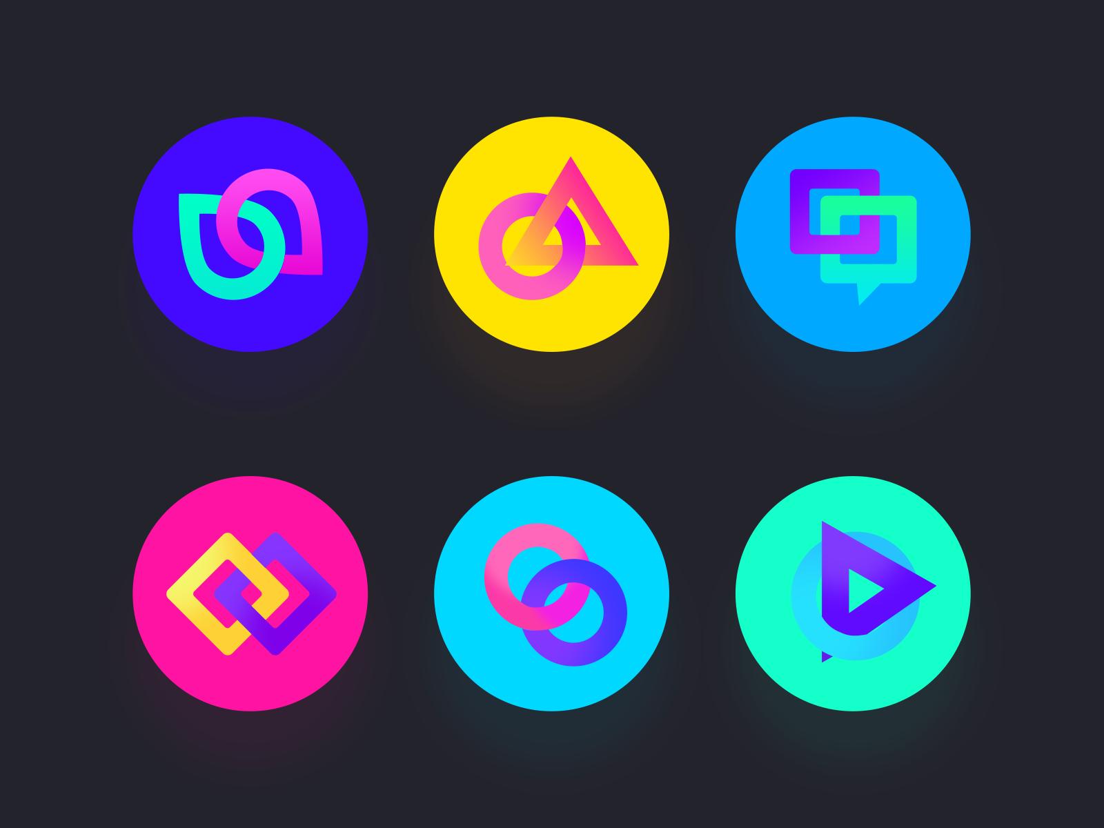 Nothing Art Color Magic Flat Design Icons Icon Design Inspiration
