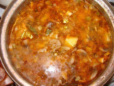 грибна солянка рецепт з фото | Рецепты супов, Национальная ...