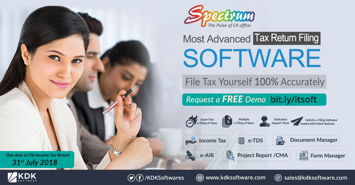 spectrum a completed tax compliance software 360 solution most advanced return filing file with income bank has the following balance sheet loan example