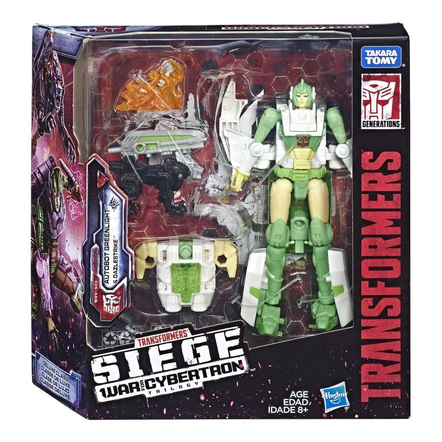 NEW UNOPENED Transformers War For Cybertron SIEGE Deluxe Class BRUNT