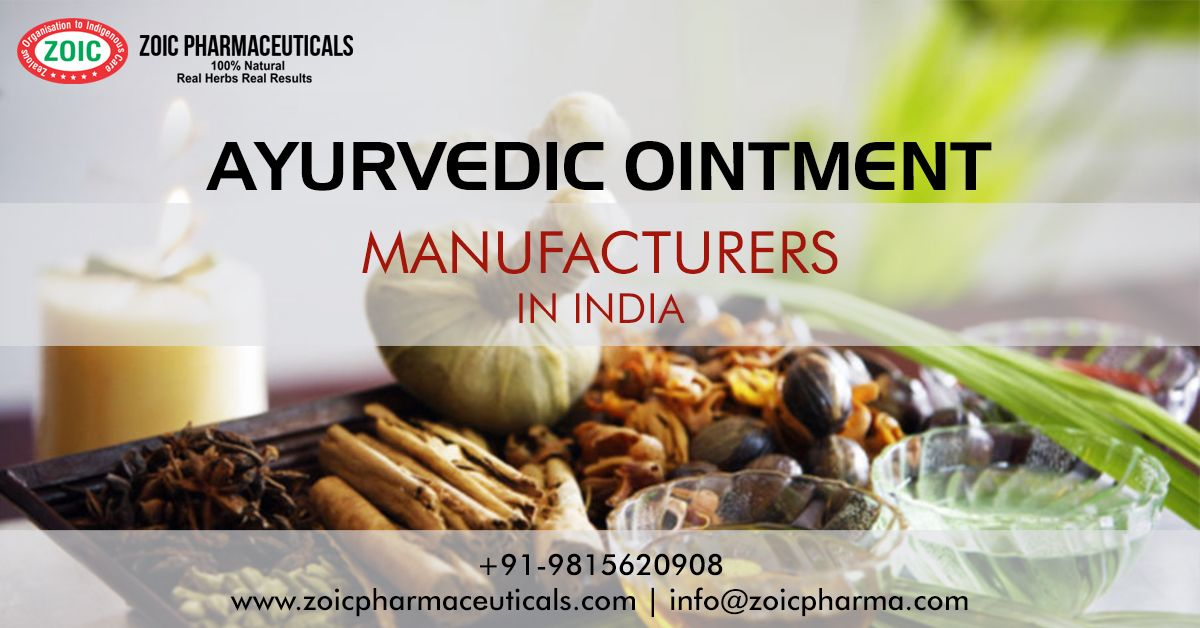 Zoic Pharmaceuticals Is One Of The Best Ayurvedic Ointment