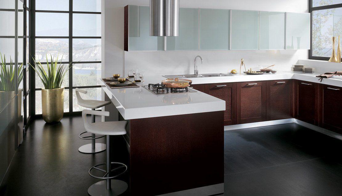 Cocinas modernas dise o cocina pinterest cocina - Diseno cortinas modernas ...