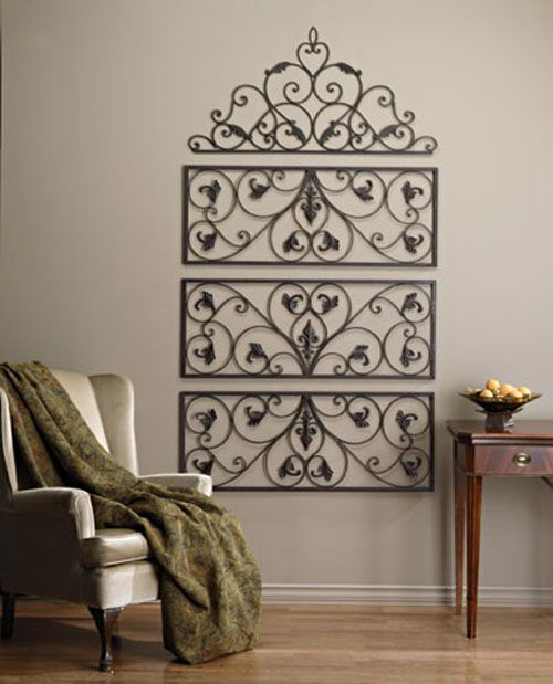 Ok friends need some help please keep your eyes open for for Iron scroll wall art