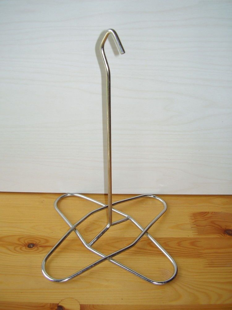 13 free standing wire frame hat rack stand holder unbranded