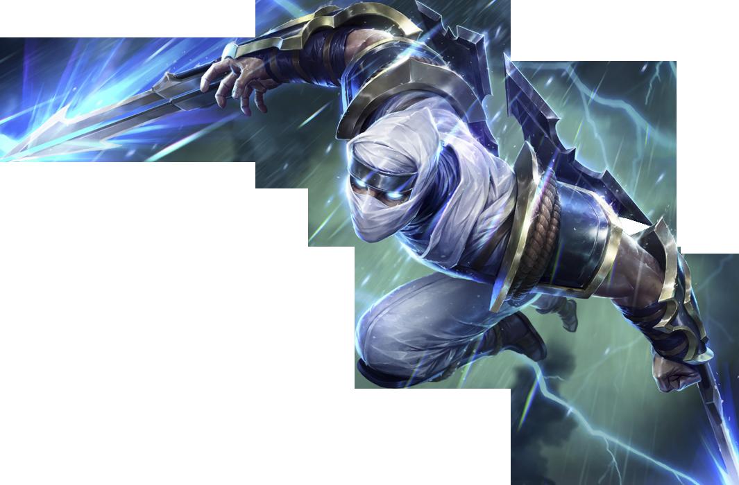 Shockblade Zed Skin PNG Image   League of legends, League ...