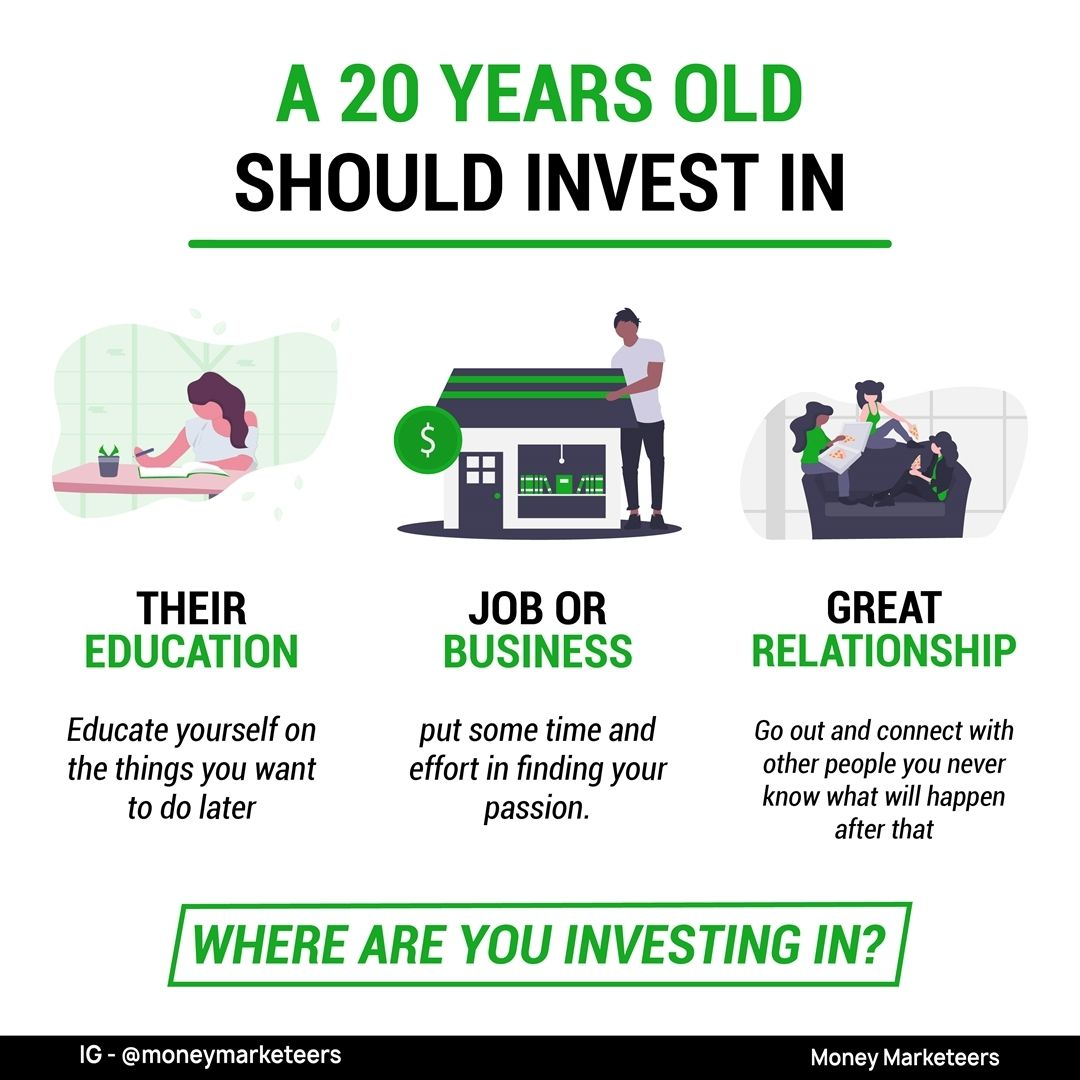 How To Invest Money As A 20 Year Old