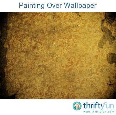 Painting over wallpaper wallpaper bedroom remodeling for How hard is it to remove wallpaper