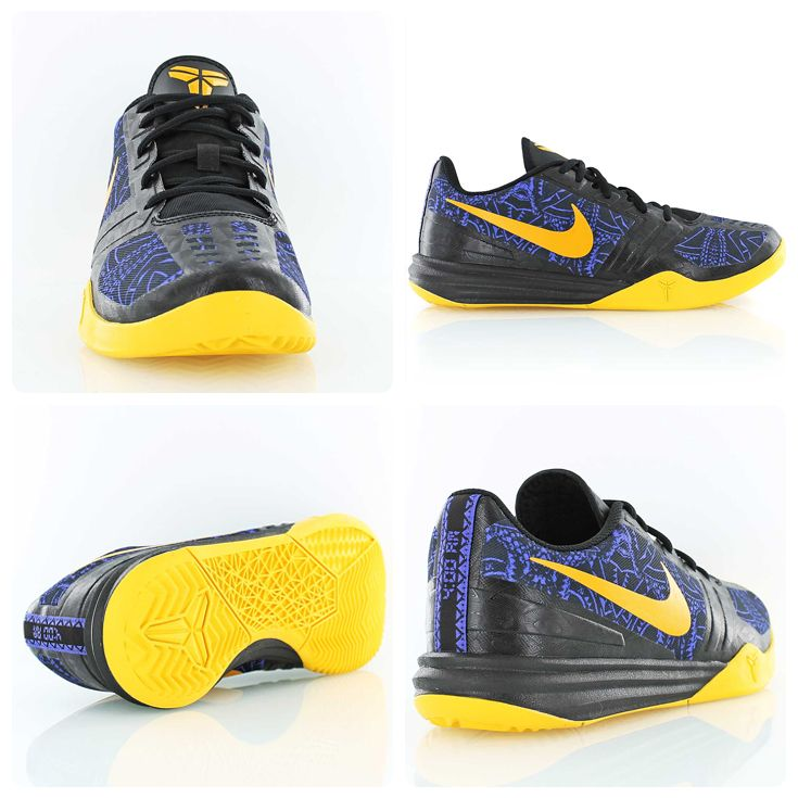 best website dfdeb d64b2 Kobe Bryant s career may be coming to an end but his shoe game is still on  top. Nike KB Mentality in a Lakers-inspired colorway