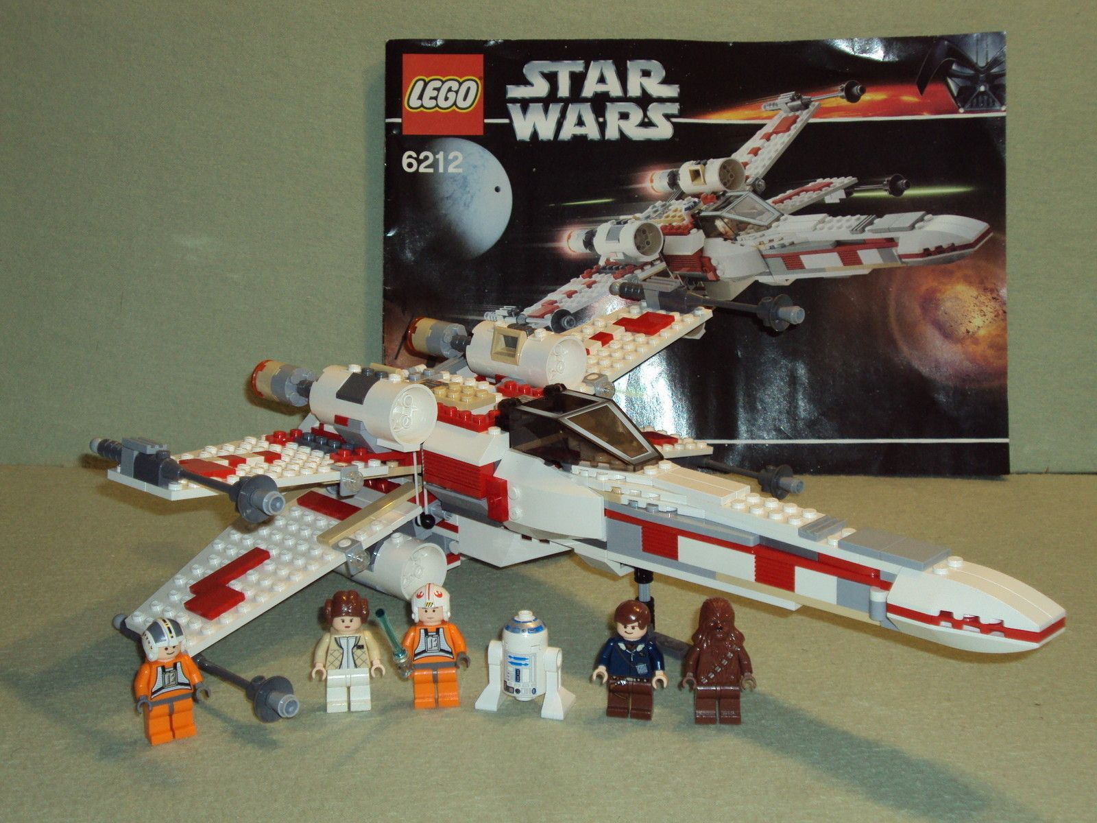 Lego star wars set 6212 x wing fighter from 2006 rare 100 complete lego star wars set 6212 x wing fighter from 2006 rare 100 complete starwars fandeluxe Gallery
