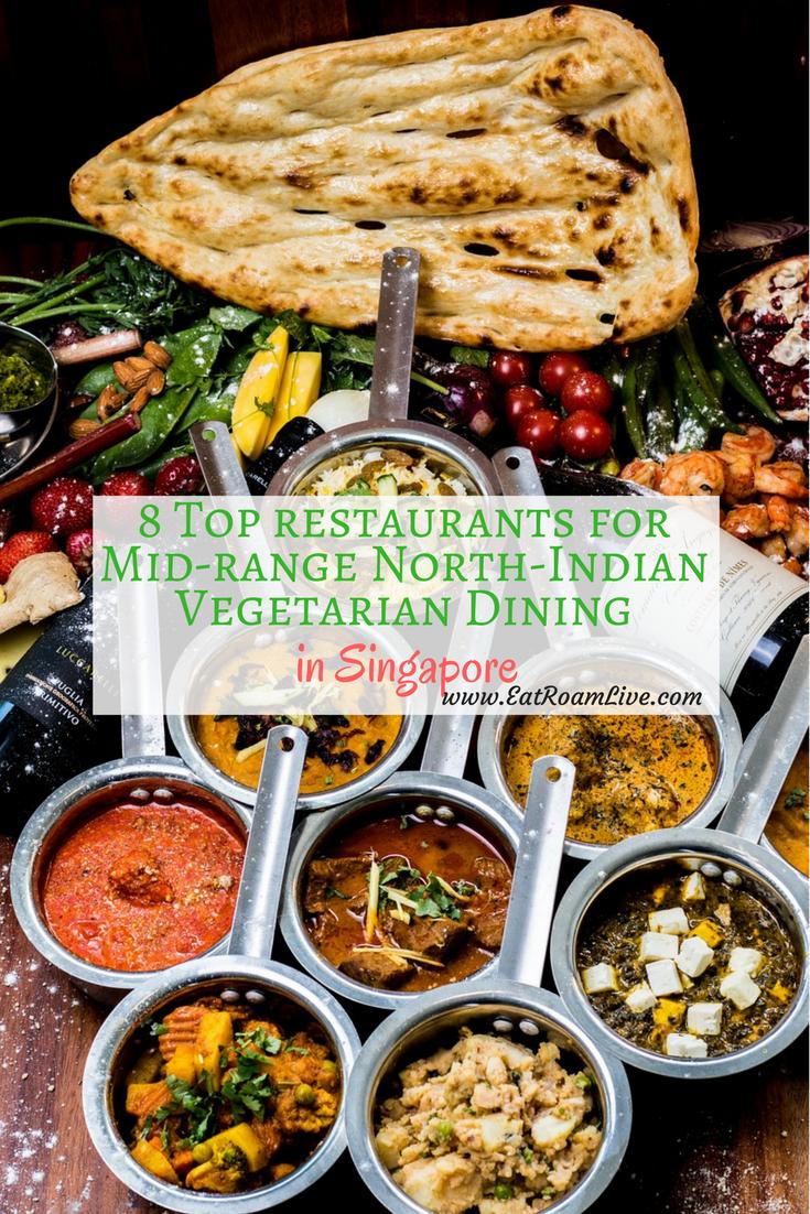 Top Restaurants For Mid Range North Indian Vegetarian Dining