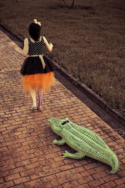 Las Nóias - Há um crocodilo dentro de im