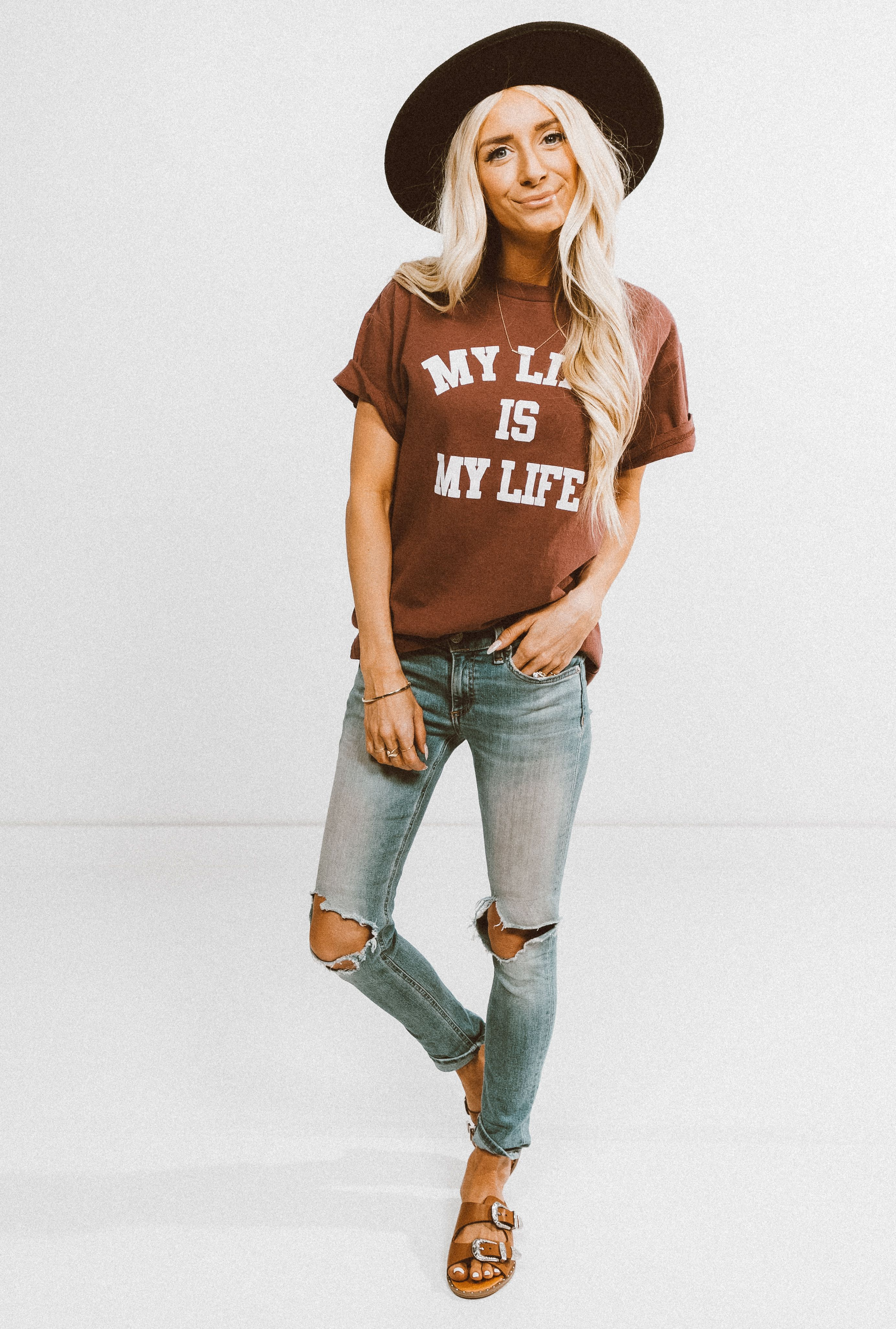 b664a08fe190 graphic tee 2018 trend    shop stevie hender summer outfit
