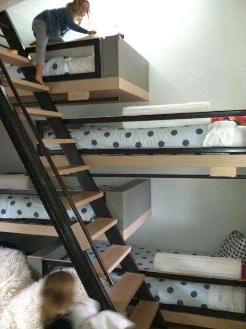 Interiors Top 10 Coolest Kids Bunk Beds Rue Du Chat Qui Peche