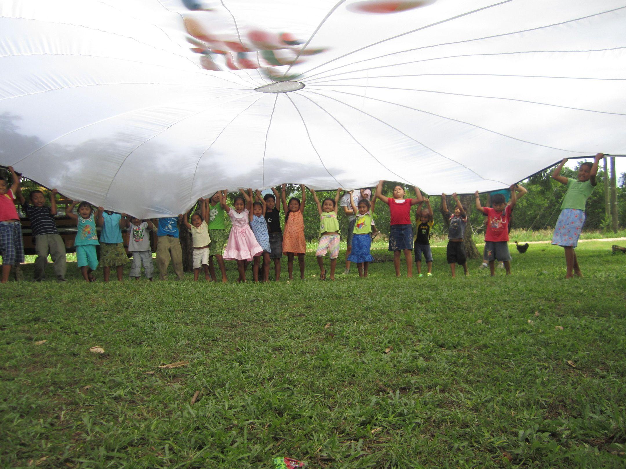 parachutes belize mission trip journals first baptist church