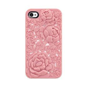 SwitchEasy SW-BLO4S-P Avant-garde Hard Case for iPhone 4 & 4S - 1 Pack - Case - Retail Packaging - Blossom - Pink  $4.95