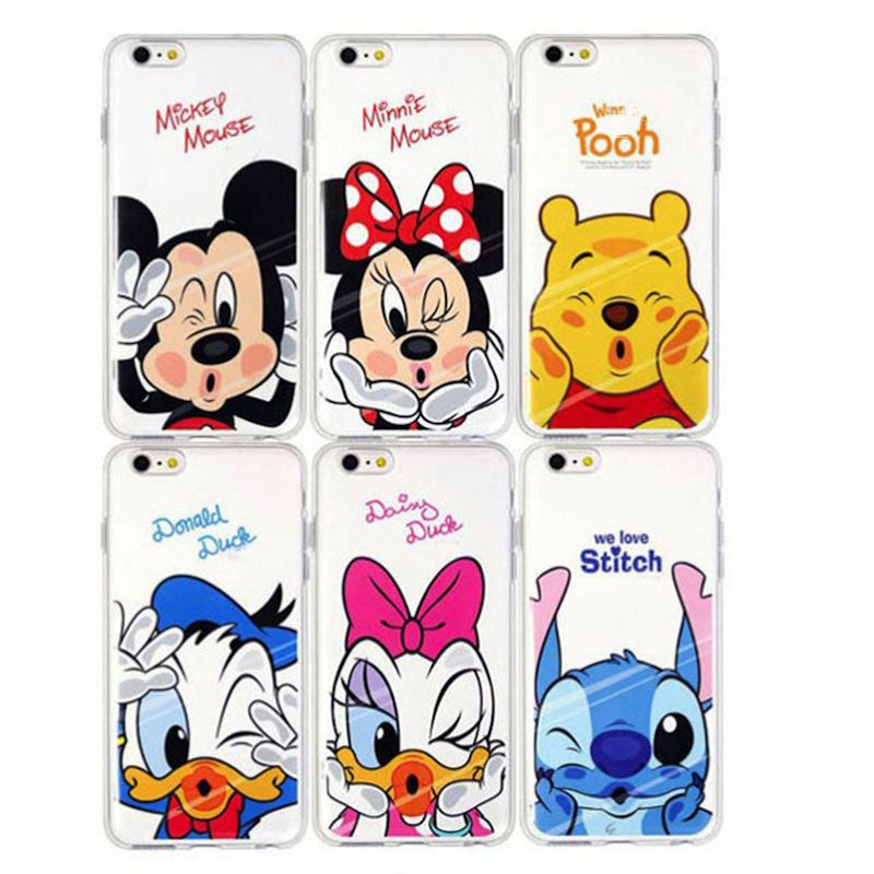 dr le minnie mickey de dessin anim tpu cas pour apple iphone 5 5s 5 5s 5se se caract res imd. Black Bedroom Furniture Sets. Home Design Ideas