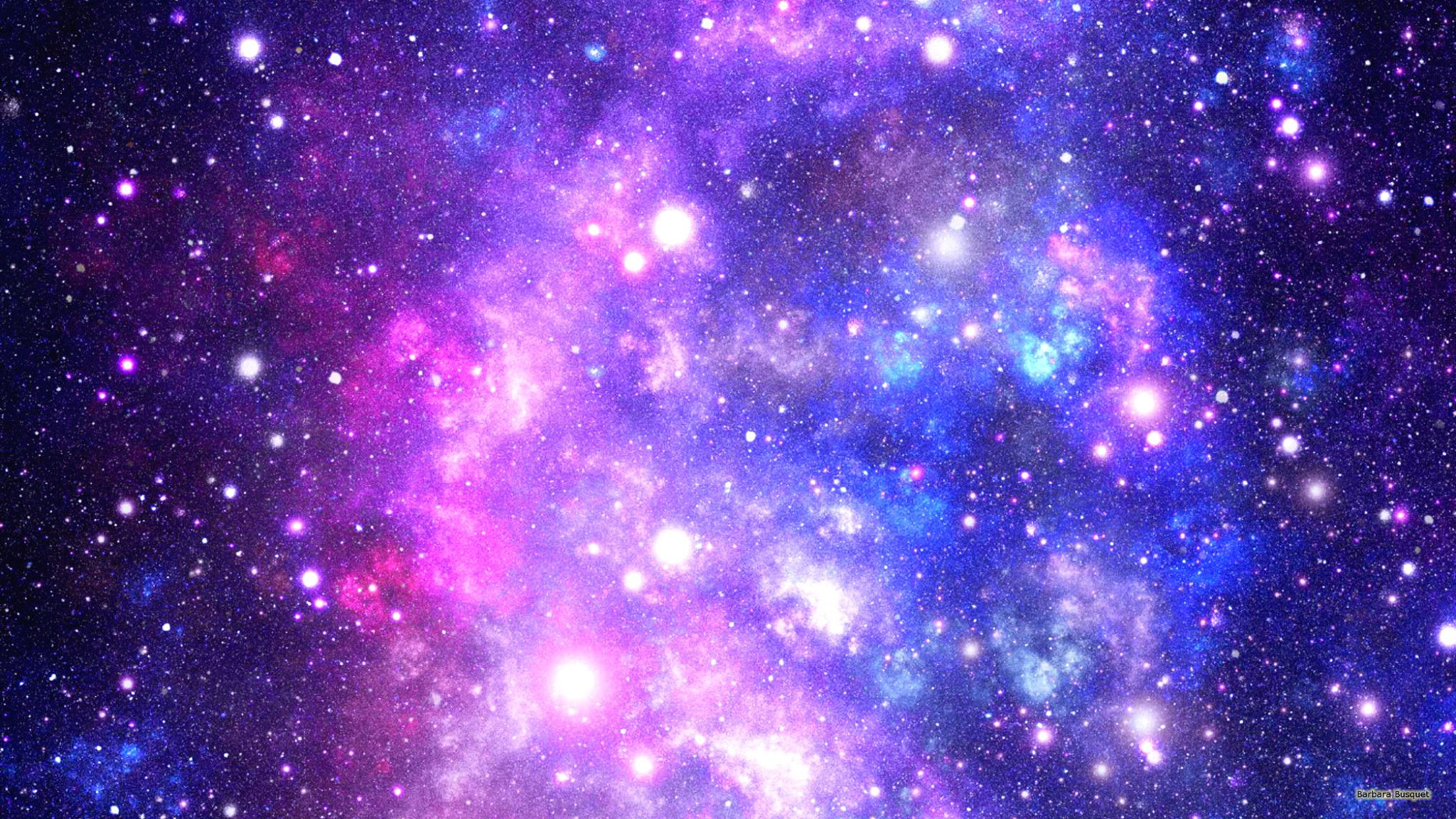 Galaxy Wallpaper With Colors And Stars 2048x1152 In 2019