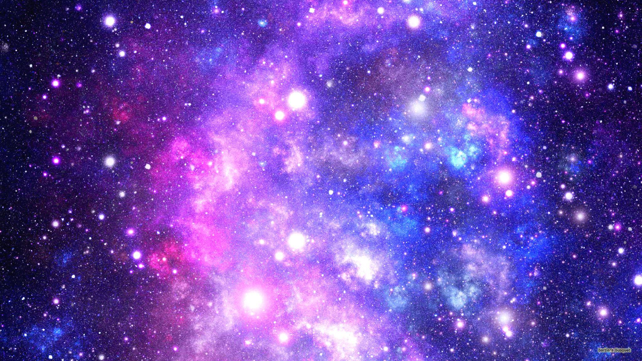 Purple Galaxy Background Hd