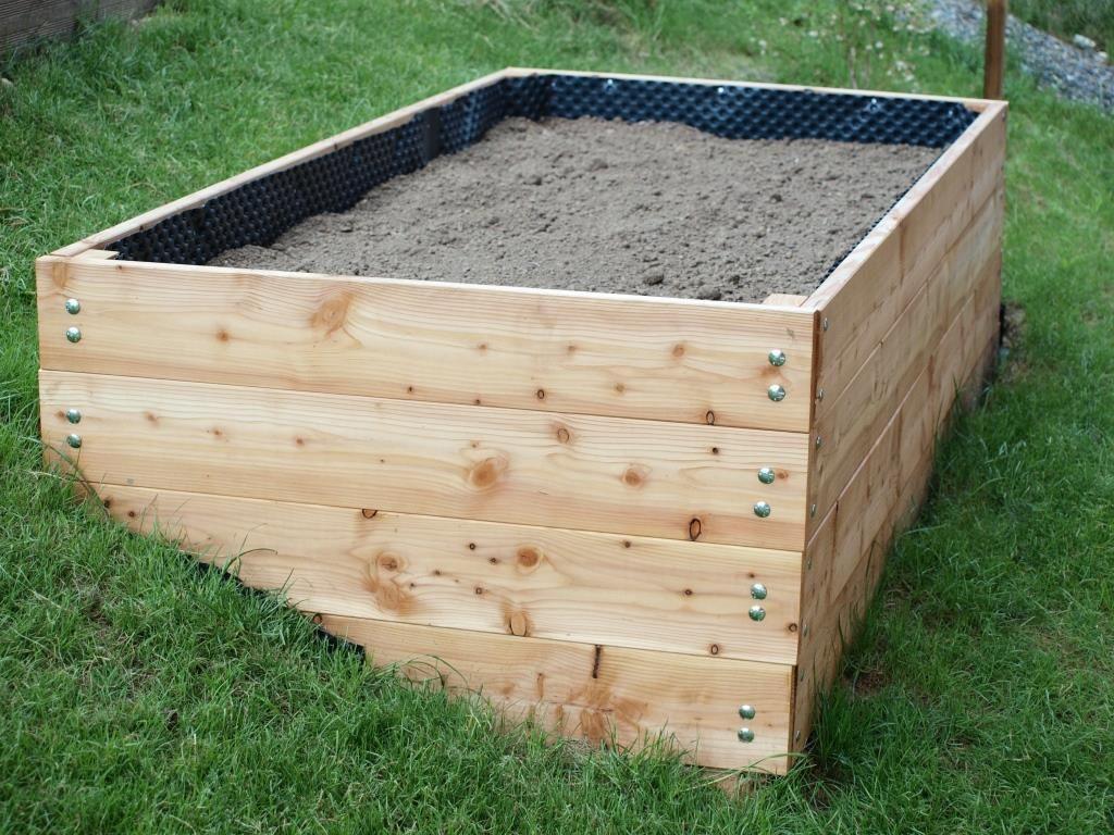 Ein Neues Hochbeet Marke Eigenbau Hochbeet Garten Hochbeet Hochbeet Holz