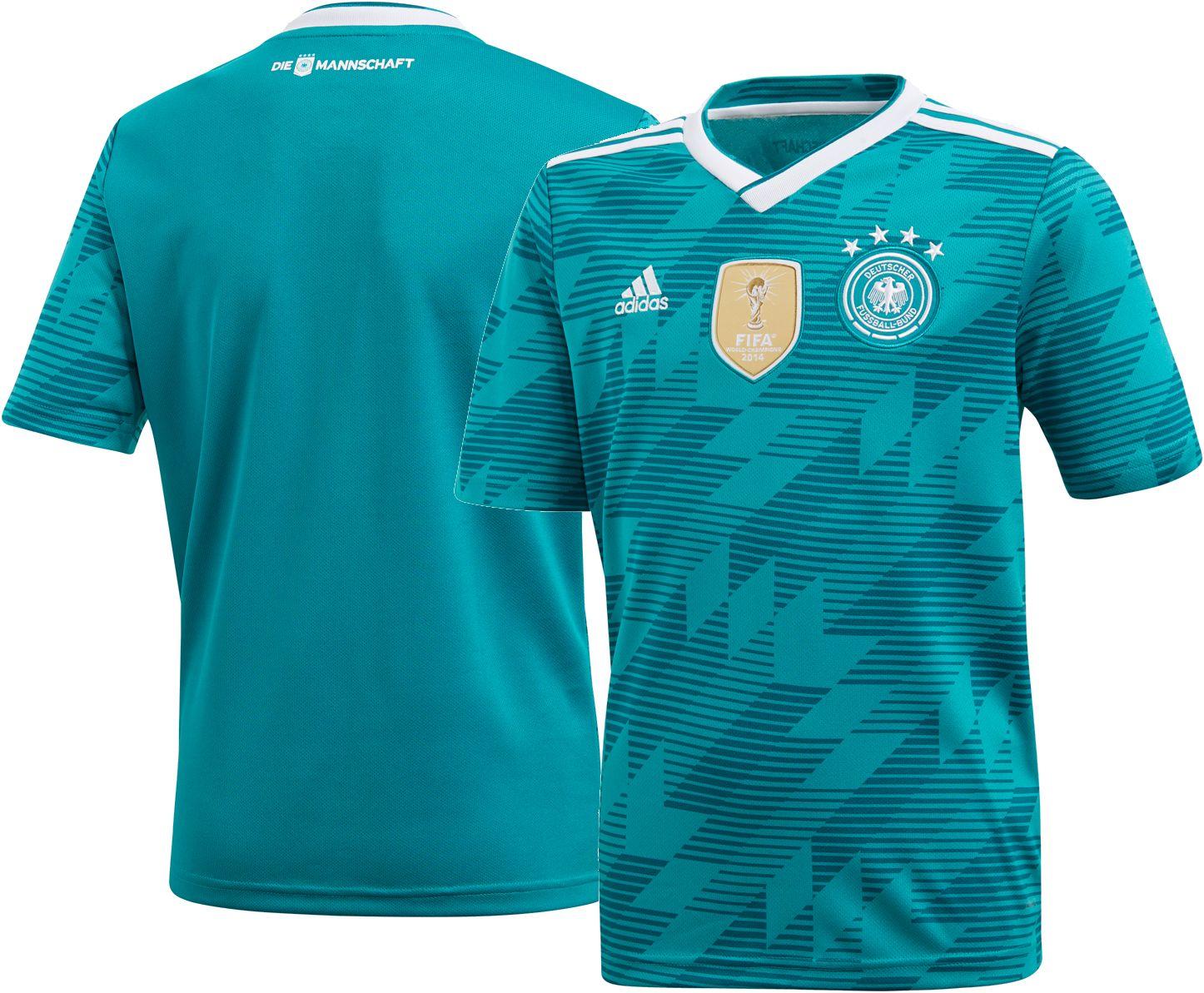 ae3f3ce8fdc adidas Youth 2018 Fifa World Cup Germany Stadium Away Replica Jersey, Size:  Medium, Team