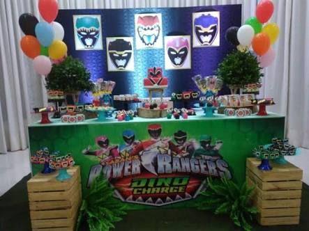 Resultado de imagen para festa power rangers