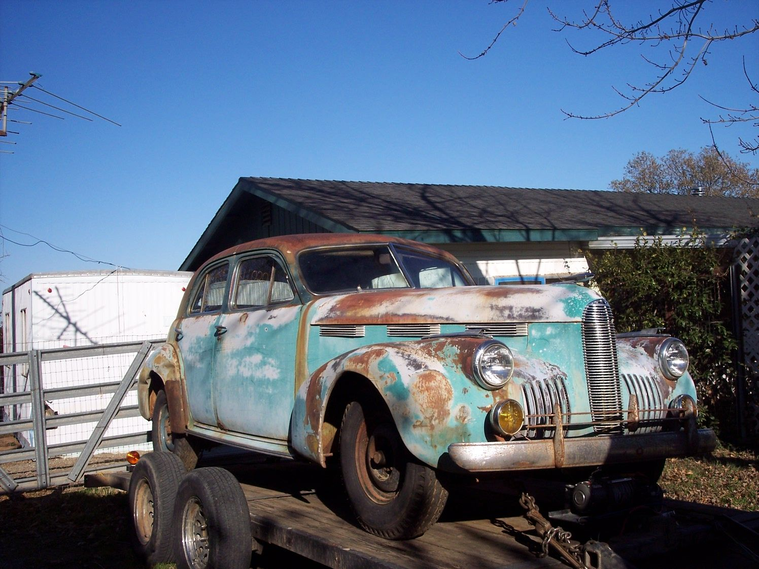 Barn Find Journal 1940 Cadillac Project Cars For SaleRusted