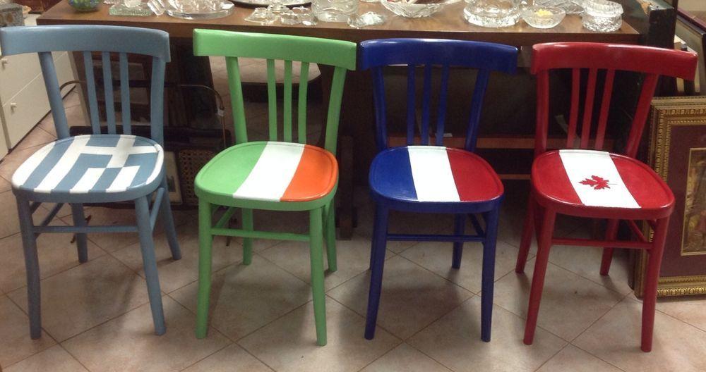 Sedie Osteria ~ Sedia milano da osteria portobello market paint