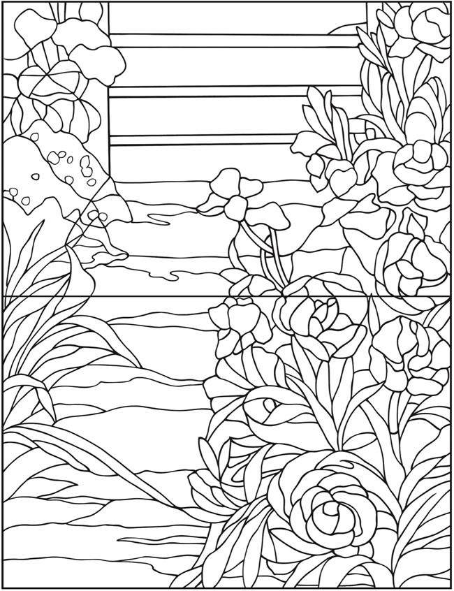 - Welcome To Dover Publications; Creative Haven Magnificent Tiffany Windows Coloring  Book Creative Haven Coloring Books, Coloring Books, Coloring Pages