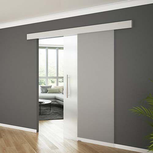 Resultado de imagen de puertas correderas de cristal new for Puertas correderas salon