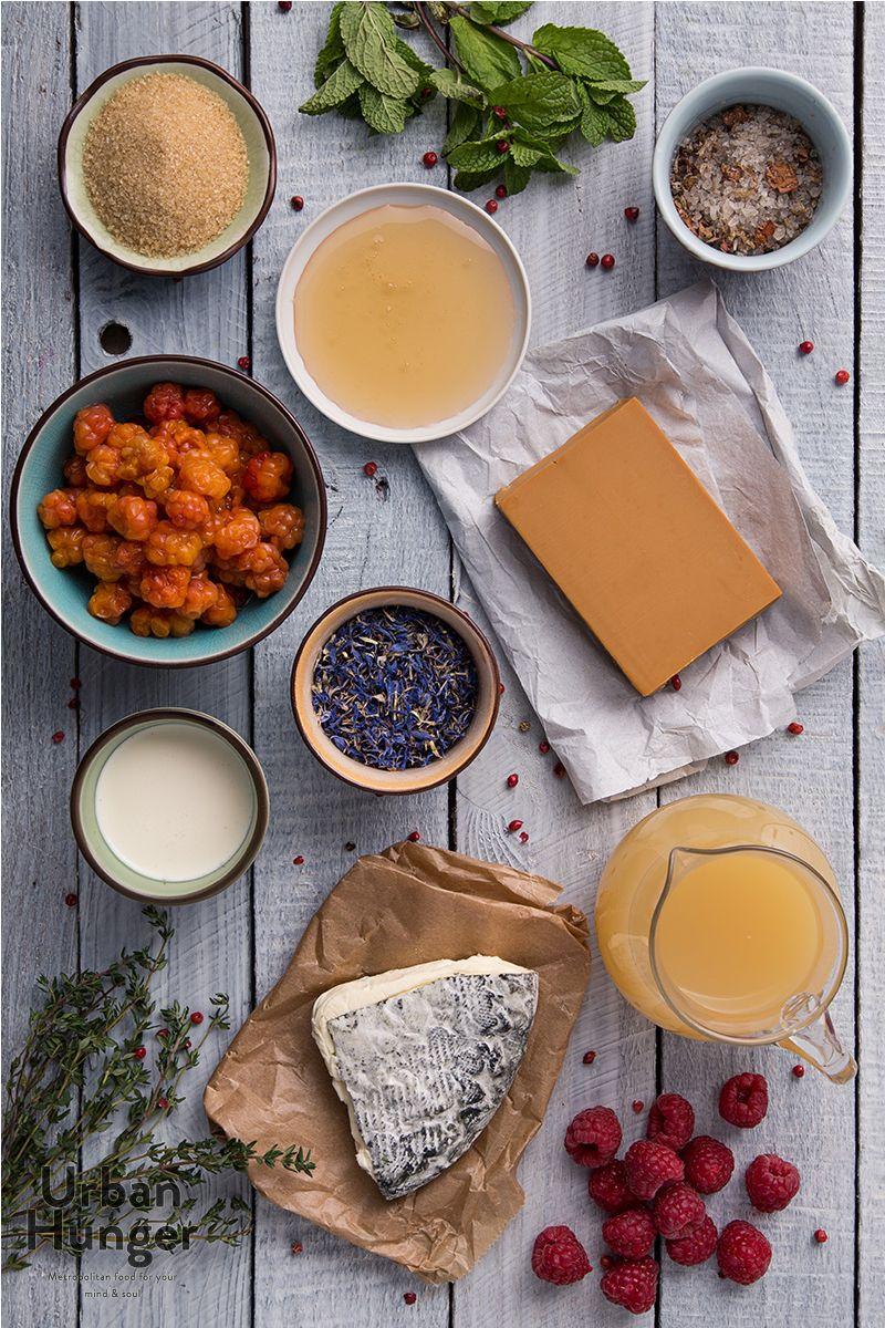 Norwegischer Braunkäse mit Moltebeeren Zutaten / Norwegian Cheese ...