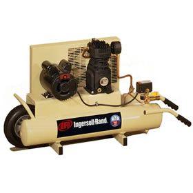 Ingersoll Rand 2-HP 8-Gallon Electric Dual Voltage Wheelbarrow Air