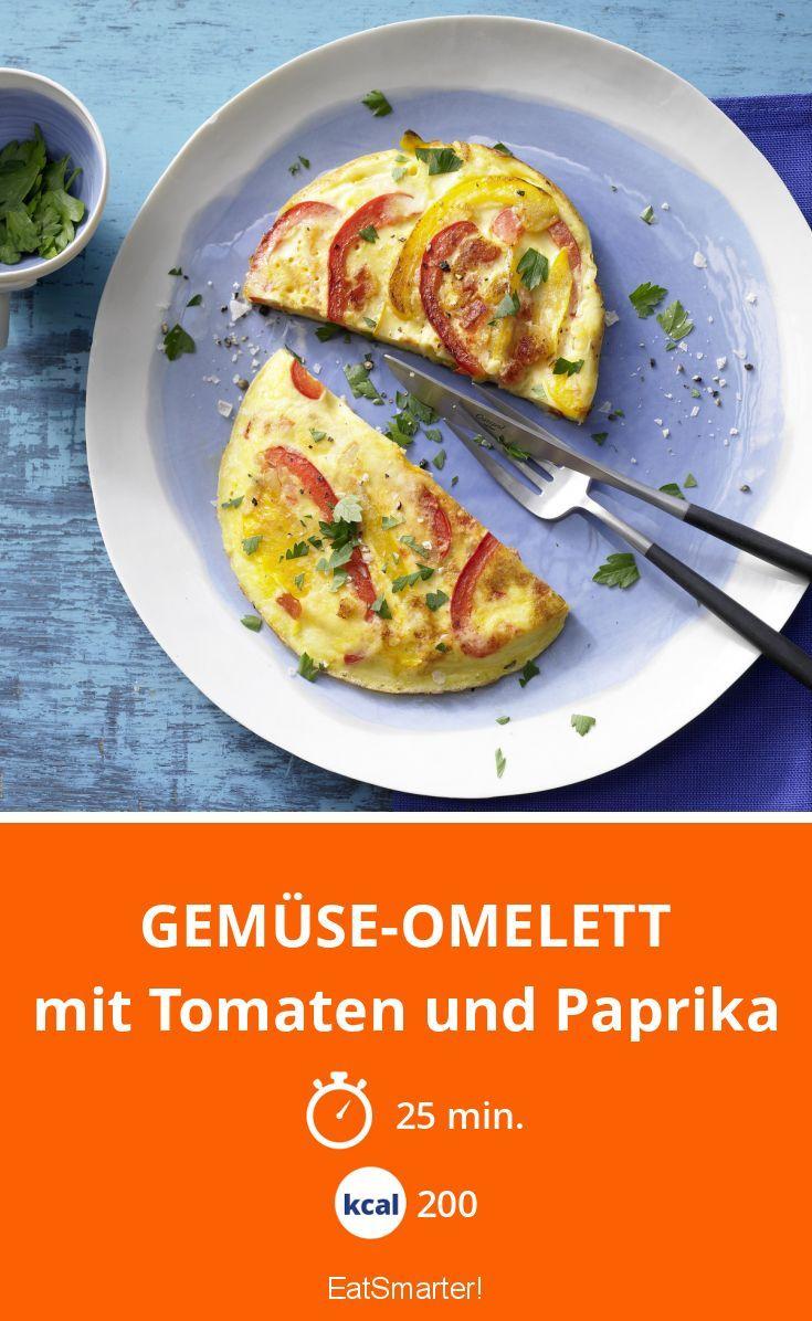 gem se omelett rezept essen trinken pinterest gem se omelett paprika und tomaten. Black Bedroom Furniture Sets. Home Design Ideas