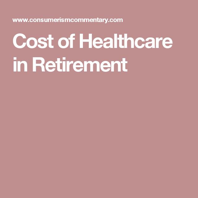 Cost of Healthcare in Retirement