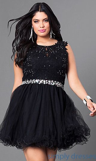 67b082f8ae Shop Simply Dresses for plus size holiday dresses, plus sizes party dresses,  cocktail, homecoming, short prom and semi formal plus size dresses.