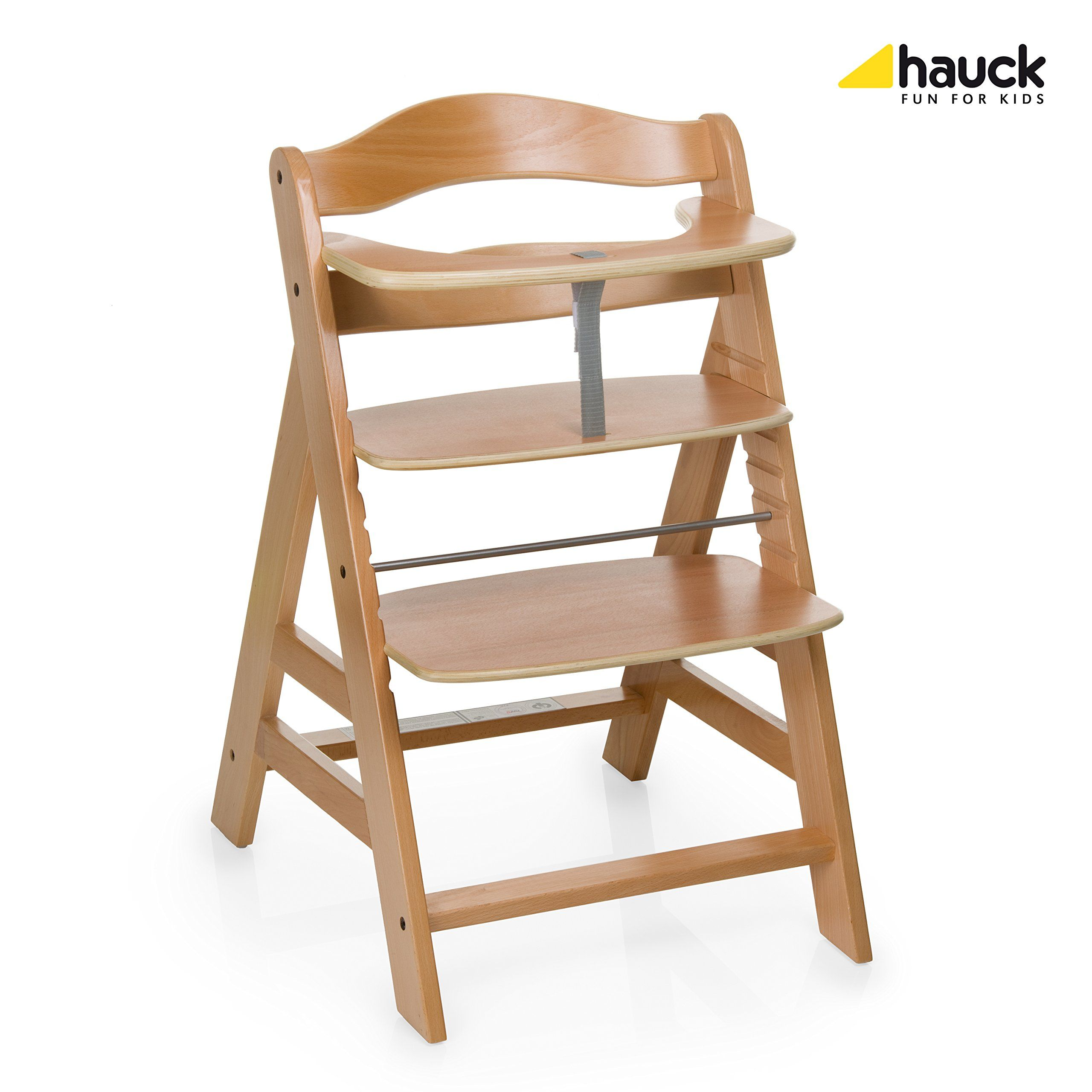 Hauck Alpha Wooden Highchair: Amazon.co.uk: Baby | Wooden ...