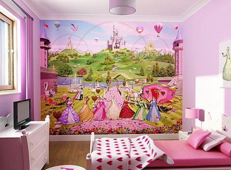 Best Lovely Barbie Wallpapers For Children S Room Decoration As We Pink Bedding Set Including Lamps 400 x 300
