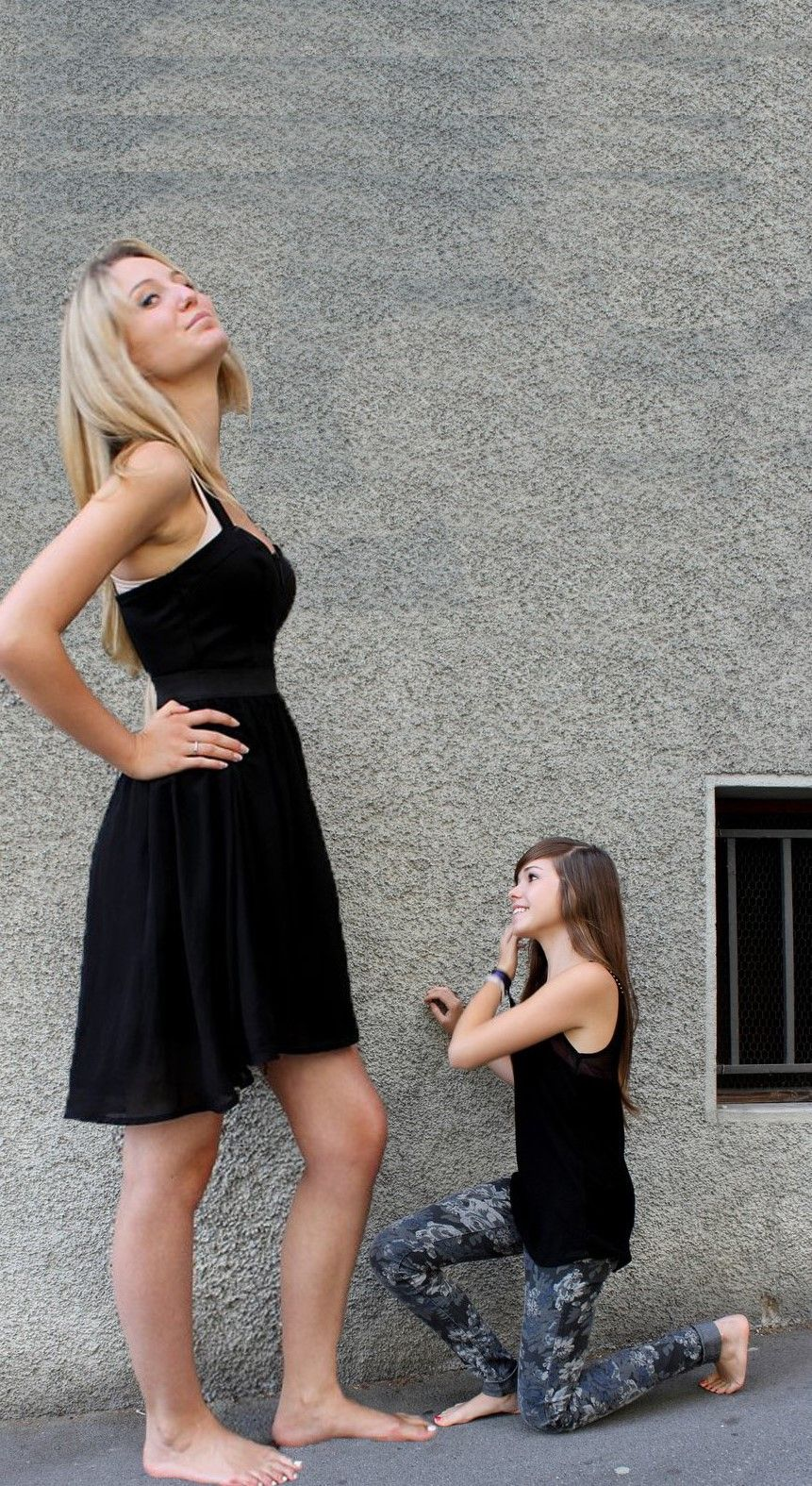 Worship me little one Shrinking Women