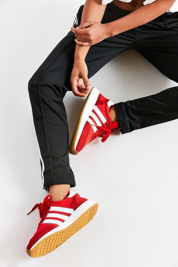 Black pants & red Adidas Sneaker:: Iniki Runner Sneaker:: Adidas + SUMMER FASHION eec6e3
