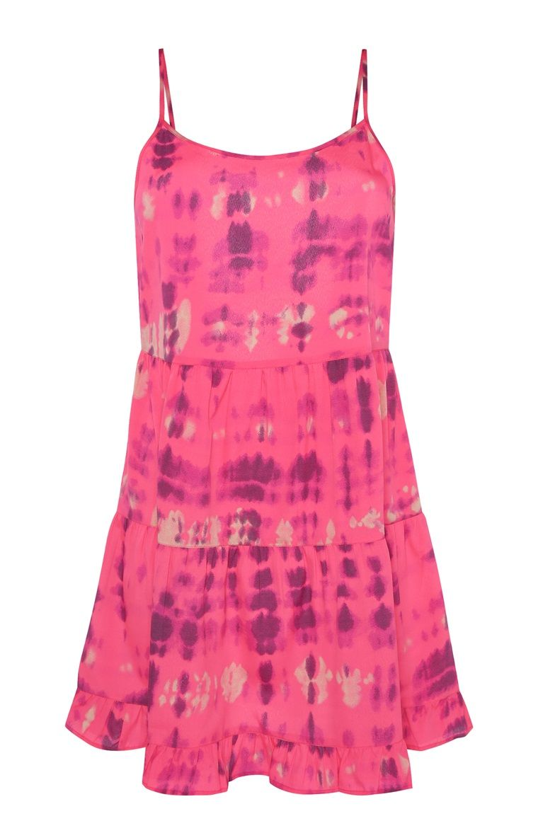 primark - pinkes kleid in batikoptik | beach dresses summer