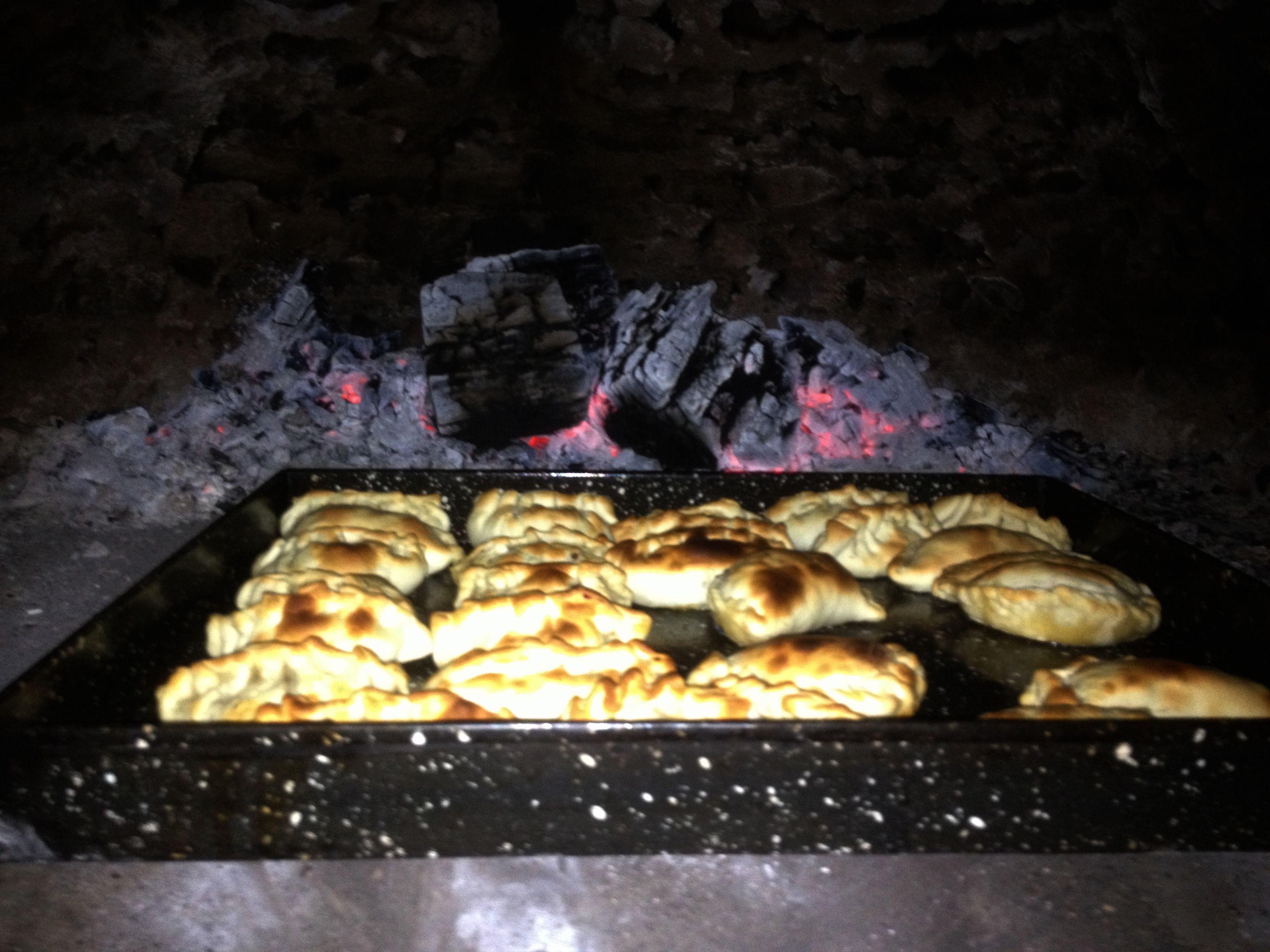 Empanadas al Horno de barro