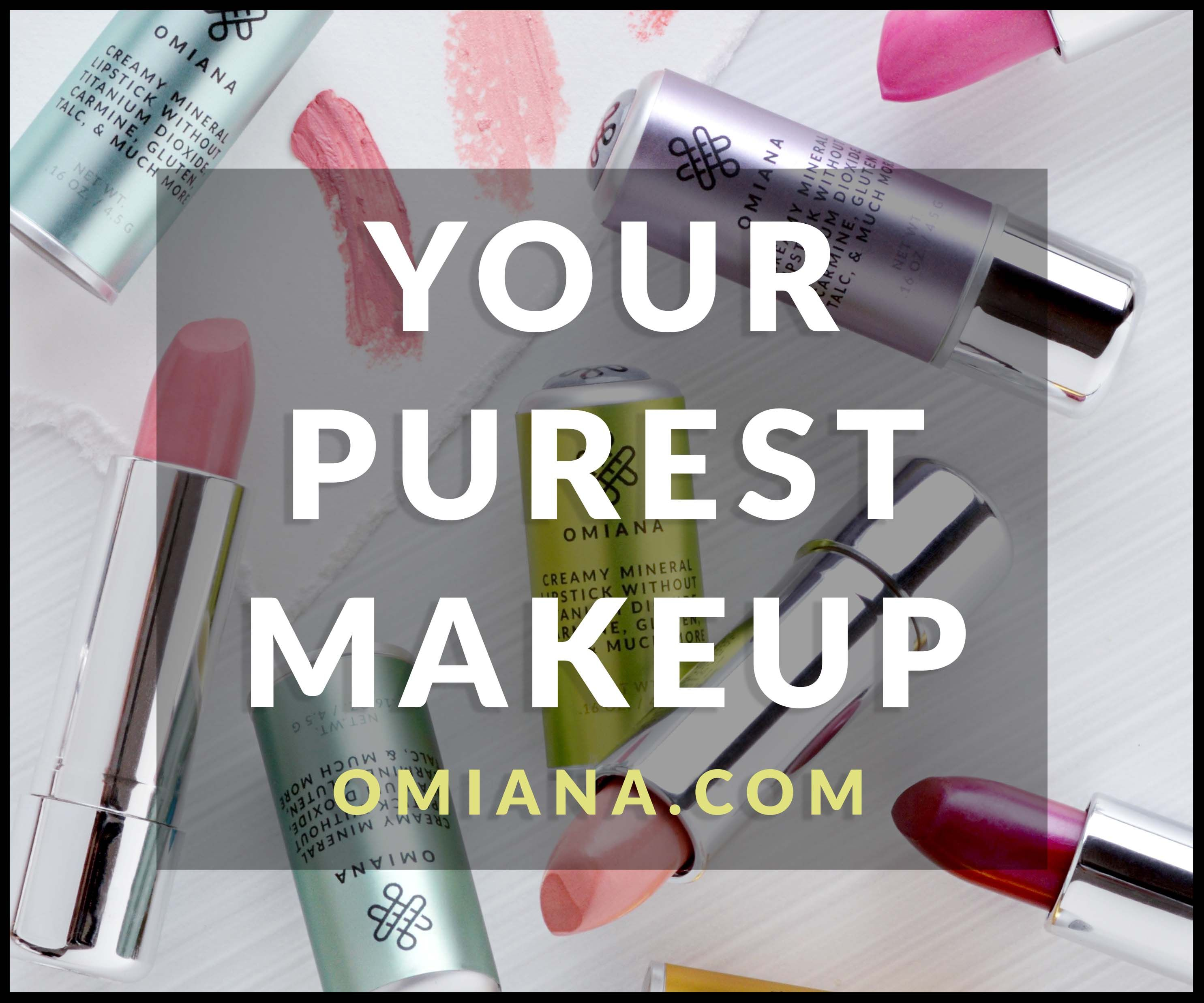 Want makeup that is made with organic ingredients plus is