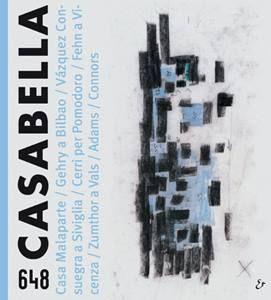 P. Zumthor | CASABELLA 648 settembre 1997 copertina  https://www.facebook.com/Casabella/photos/pcb.1126413047379195/1126412980712535/?type=3
