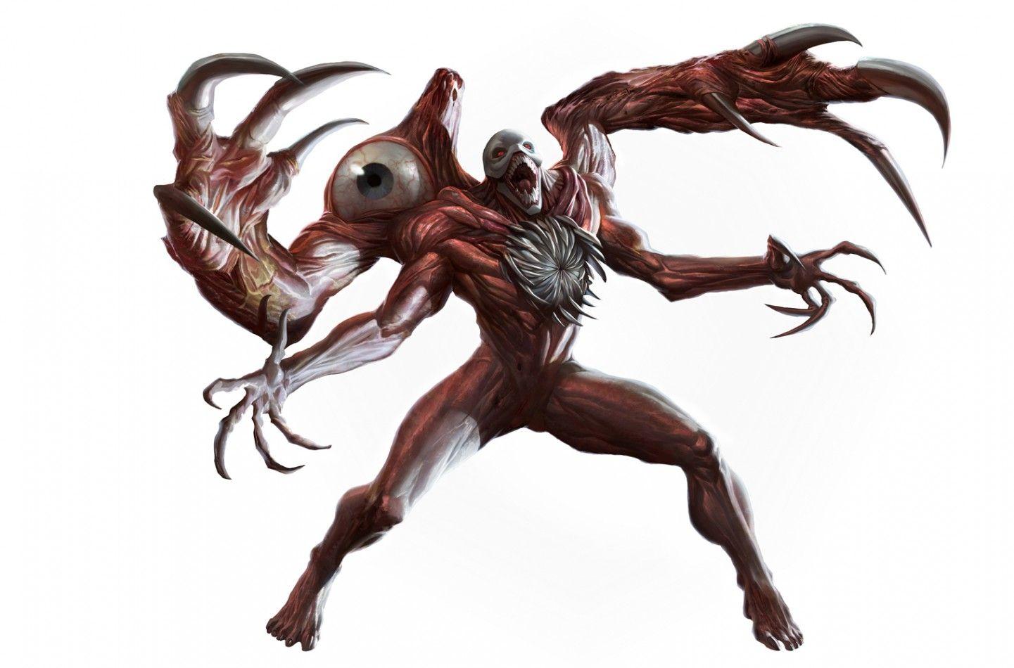 Картинки мутантов из обитель зла