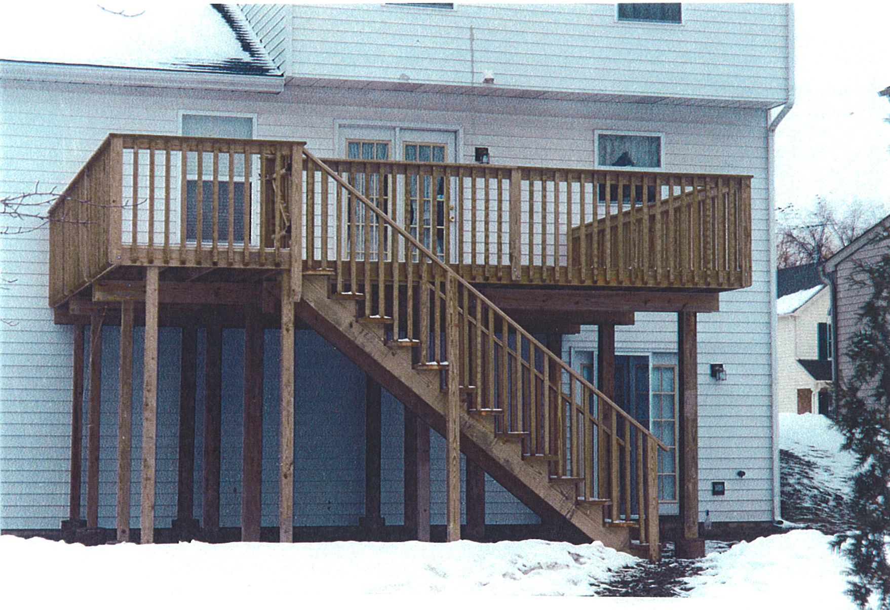 Sweetlooking deck designs for story house construction design and ideas also rh pinterest