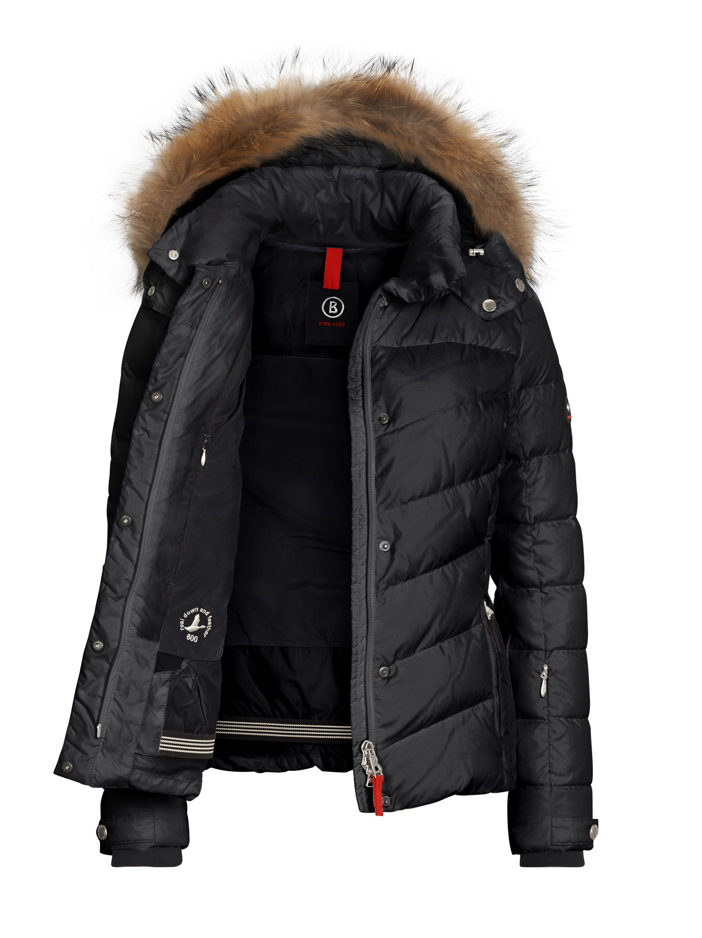 555b1ad4c Down Ski Jacket Sally-D - Black - order at Bogner   I want to wear ...