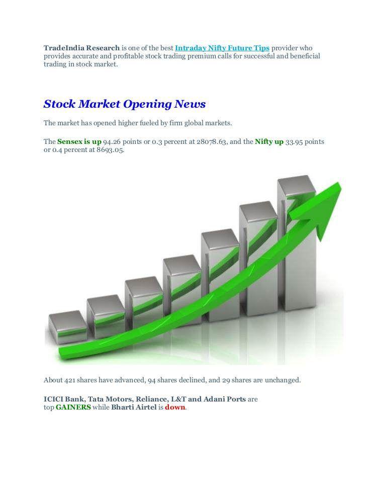 Top Gainers In Sensex Stock Market Opening Updates 20th October