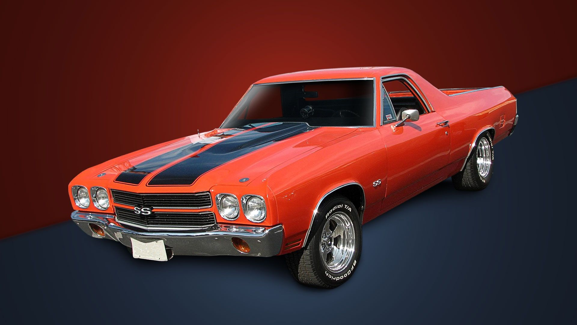 1970 Muscle Cars Chevrolet Wallpaper Muscle Car Orange Camino Cars
