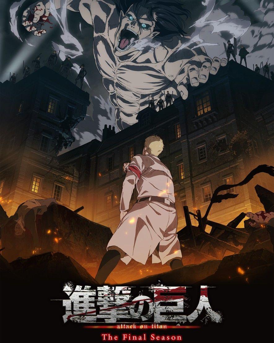 Attack On Titan Final Season Poster Anime Animes Wallpapers Attack On Titan