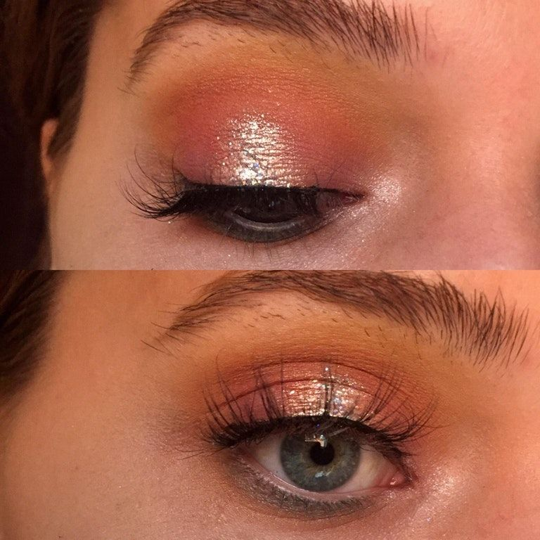 Inglot pure pigment eyeshadow in 118 over the glitter ...